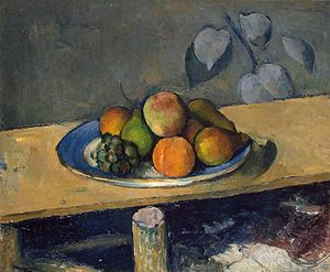 Paul Cezanne - Apples, Pears and Grapes