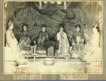 English: Taoist gods spotted in a temple in Ha...