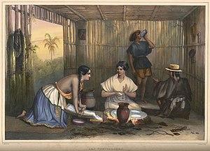 """""""Las Tortilleras"""": women making tort..."""