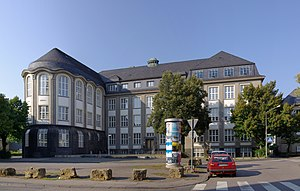Building of Trier University of Applied Scienc...