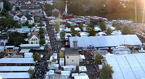 Wurstmarkt Bad Dürkheim 2007 vom Riesenrad