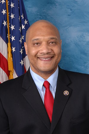 Official portrait of André Carson, United Stat...