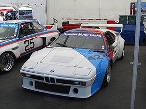 A BMW M1 Procar.