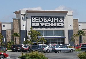 English: A Bed Bath and Beyond store in a shop...