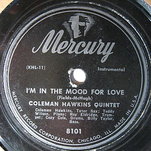 78s coleman Hawkins I'm in the Mood for Love