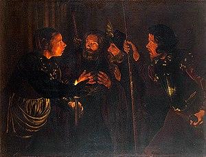 Peter Denying Christ Ca. 1620-1624 Daniel Tiva...
