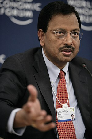 Ramalinga Raju, Founder and Chairman, Satyam C...