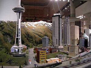 """The Great Train Story"" exhibit in t..."