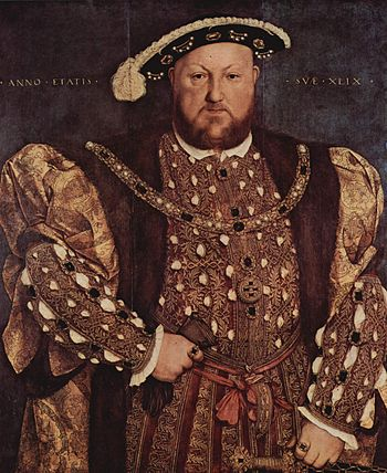Henry VIII of England, who devised the Statute...
