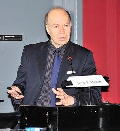 U.S. climate scientist James Hansen. Photo: Wikimedia