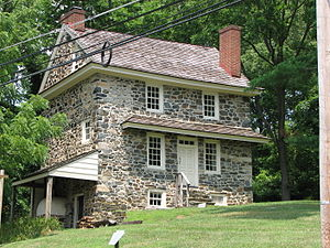 English: The , a historic house in now adminis...