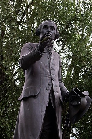 English: Statue of Immanuel Kant in Kaliningra...