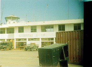 English: The Kismayo Airport in Kismayo, Somalia.