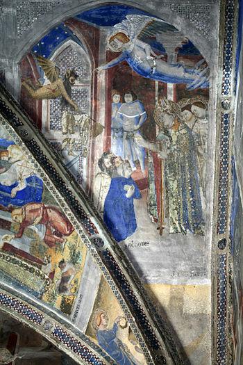 Français : La vie de saint Martial - Miracle à...