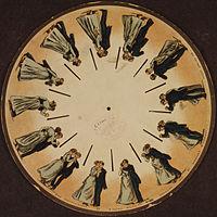 200px Phenakistoscope 3g07690u - História dos desenhos animados.  Qual o desenho mais antigo do mundo?