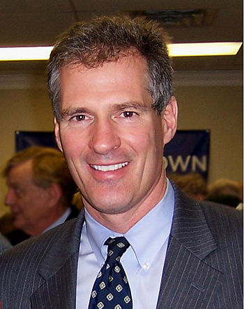 English: Scott Brown, Republican U.S. Senator ...