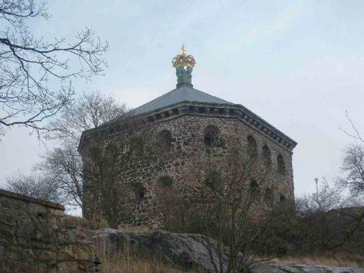 Skansen Kronan som det ser ut idag