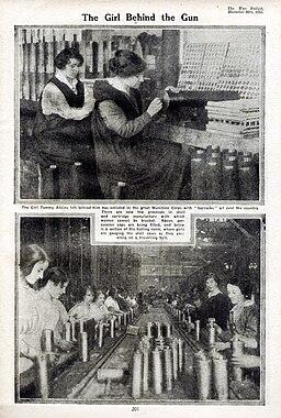 The Girl Behind the Gun 1915