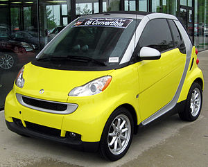 2008 Smart ForTwo photographed in Silver Sprin...