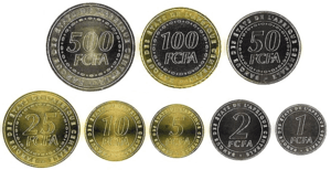 Monedas de áfrica