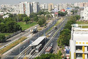 English: Ahmedabad BRTS