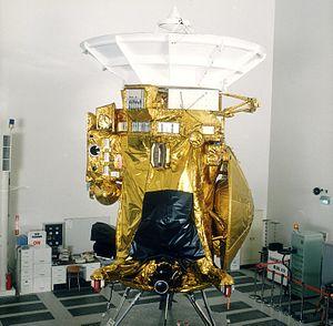 Nederlands: Cassini ruimtevaartuig - foto: NAS...