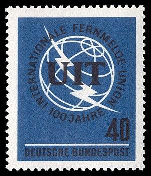 English: 100 years International Telecommunica...
