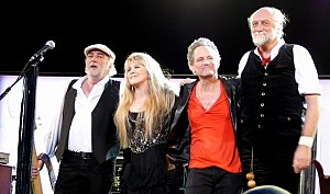 English: FLEETWOOD MAC on March 3, 2009 in St....
