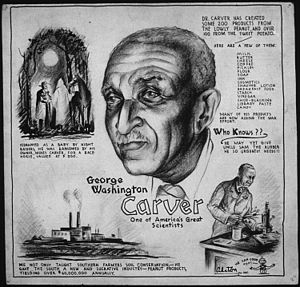 GEORGE WASHINGTON CARVER - ONE OF AMERICA'S GR...