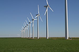 Brazos Wind Farm in the plains of West Texas