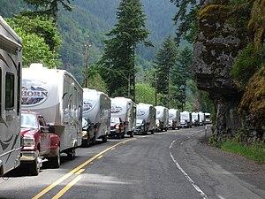 English: Caravan of Heartland Bighorns on the ...