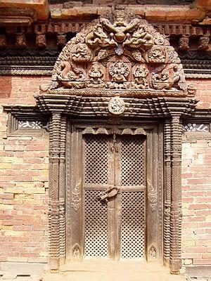 Hindu temple in Kathmandu