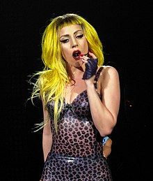 Lady Gaga at the Monster Ball Tour 2011