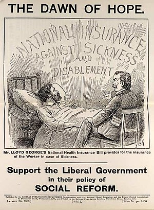 Cover from a leaflet published by the Liberal ...