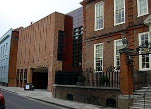 Pallant House Gallery (a gallery of modern Bri...