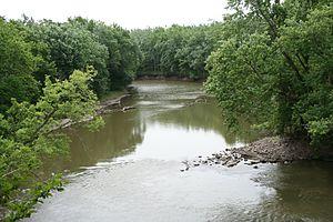 Sangamon_River_near_Lincoln's_First_Home_in_Il...