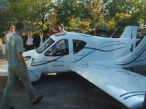 English: 's flyable prototype Transition airpl...