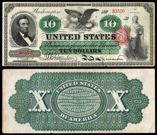 United States ten-dollar bill - Wikipedia