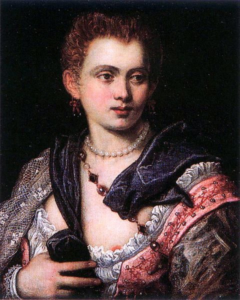 Veronica Franco, by Tintoretto