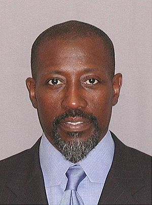 Mug shot of Wesley Snipes.