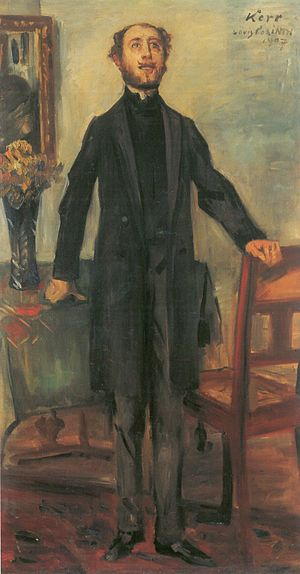 Lovis Corinth: Portrait of Alfred Kerr, 1907