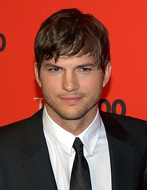 English: Ashton Kutcher at Time 100 Gala