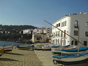 Calella de Palafrugell is one of the smaller r...