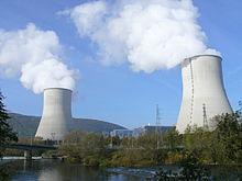 Une photographie de la Centrale nucléaire de Chooz, construite par Alstom et opérée par EDF.