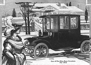 1912 Detroit Electric advertisement