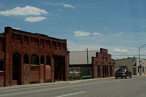 Estancia, New Mexico main street