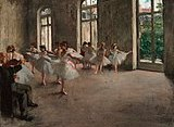Figurative painting of Degas