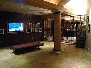 Ferrari-Carano Reserve tasting room in Sonoma ...