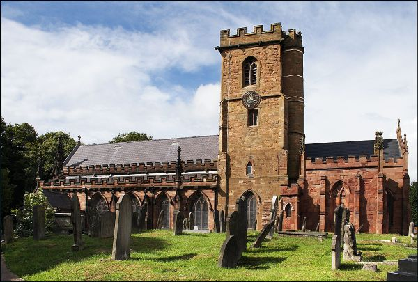 St Mary's Church, Handsworth - Wikipedia