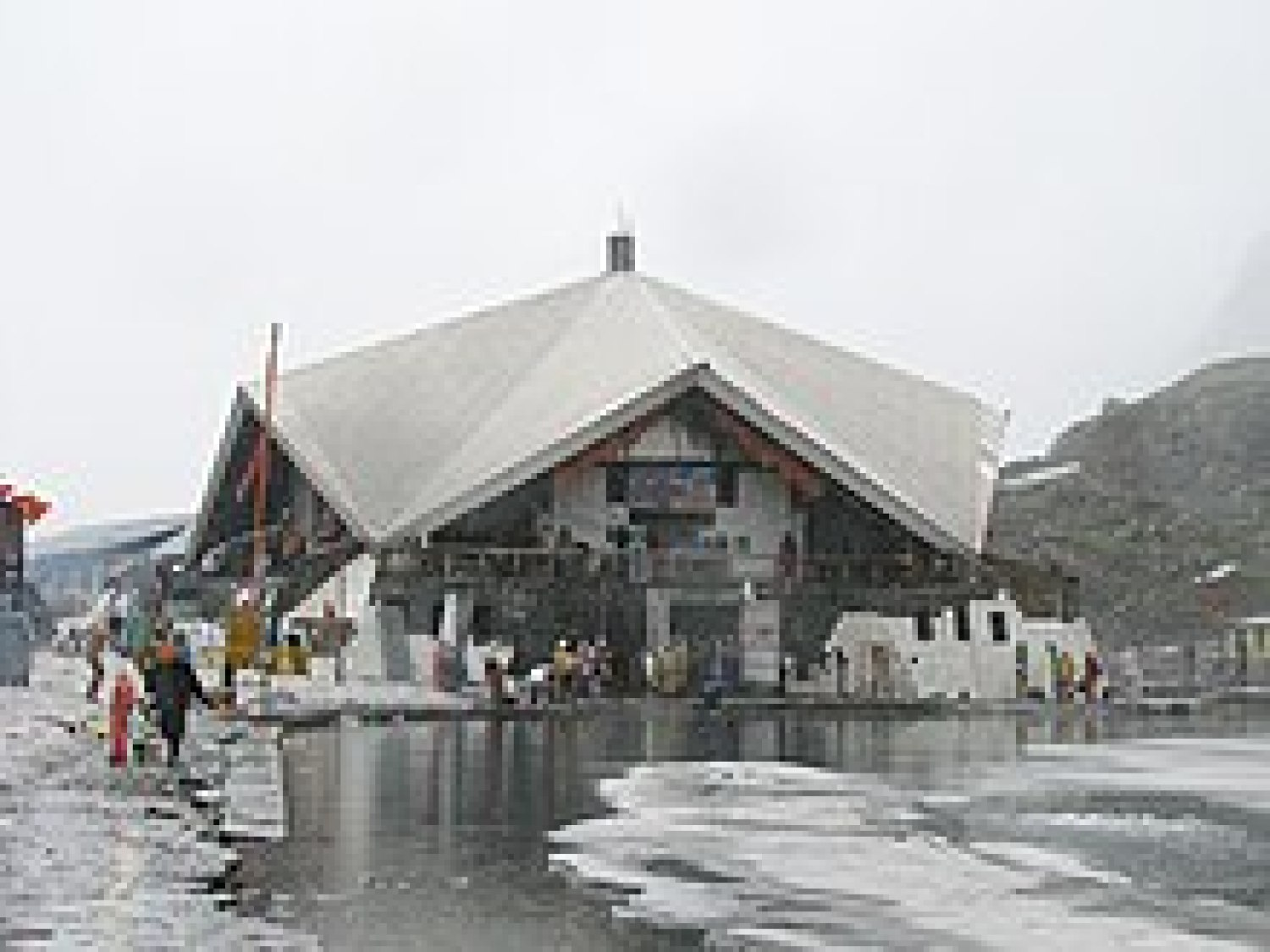 a pilgrimage site for Sikhs